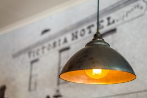 Victoria Hotel Strathalbyn front bar light